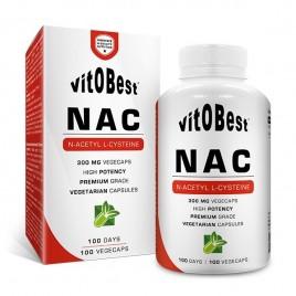 NAC Vitobest 100 cápsulas