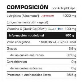 L-Arginina 2000 Vitobest 180 cápsulas