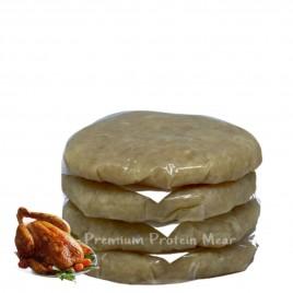 Hamburguesas de Pollo sabor Pollo Asado 4x100 gr