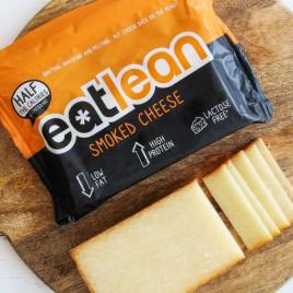 Queso Proteico Eatlean Ahumado en taco de 350 gramos