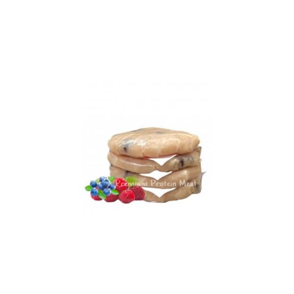 Hamburguesas de Pollo con Arándanos y Frambuesa 6x100gr