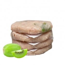 Hamburguesas de Pollo con kiwi 6 x 100 gr