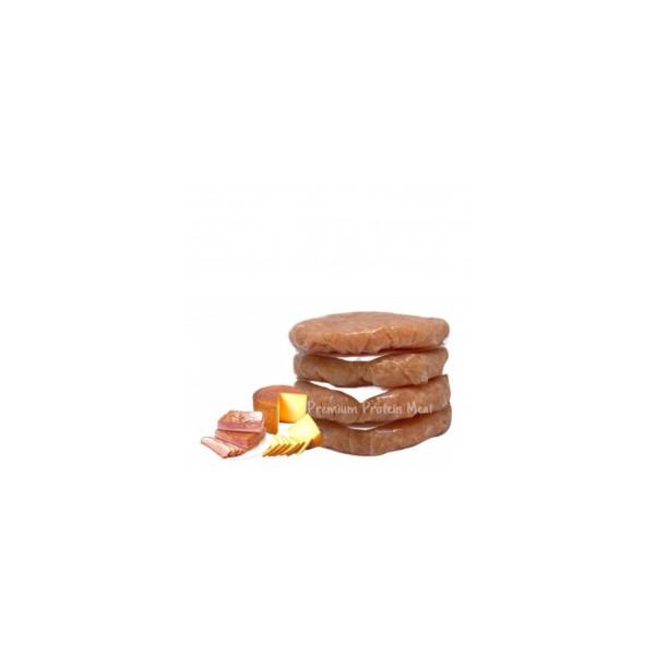 Hamburguesas de Pollo Sabor Bacon Queso 6 x 100gr
