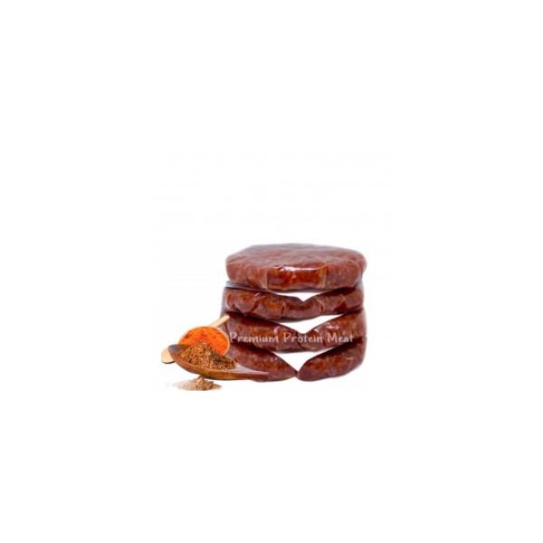 Hamburguesas de Ternera Sabor Barbacoa 6 x 100 gr