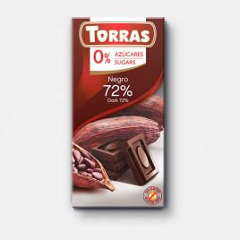 Chocolate Sin Azúcar Torras Tableta 75 gr